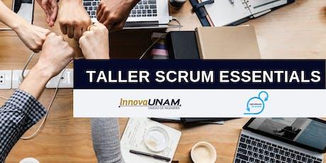 Taller SCRUM Essentials entradas