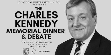 Charles Kennedy Memorial Dinner & Debate tickets