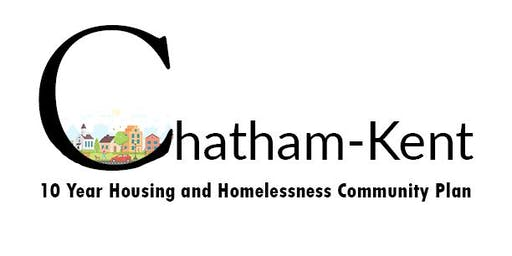 Second Workshop on the Chatham-Kent Housing and Homelessness Community Plan