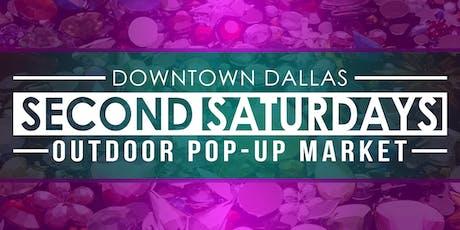 OCT 12 - SECOND SATURDAYS POP-UP MARKET - VENDOR TABLE tickets