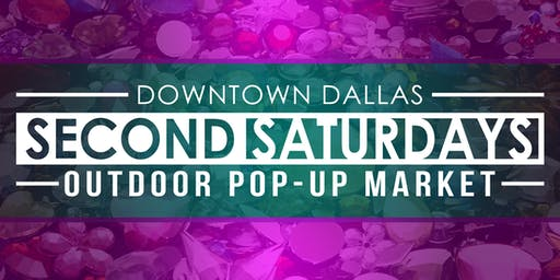 OCT 12 - SECOND SATURDAYS POP-UP MARKET - VENDOR TABLE
