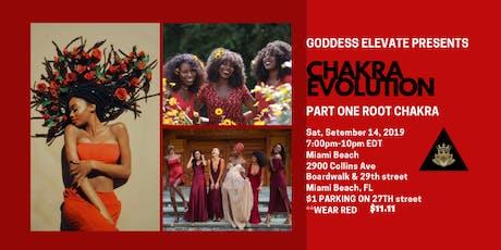 Goddess Elevate's Chakra Evolution tickets