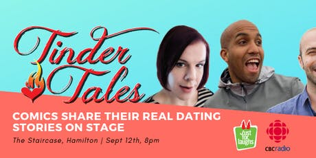 Tinder Tales Live at The Staircase Theatre tickets