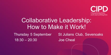 Collaborative Leadership: How to Make it Work tickets