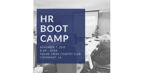 Human Resources Boot Camp