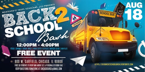 Whatever It Takes Scholars Back 2 School Bash