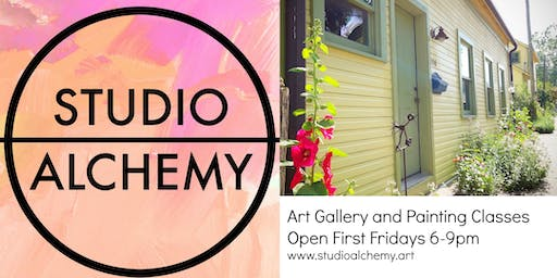 First Friday Studio Alchemy Open House