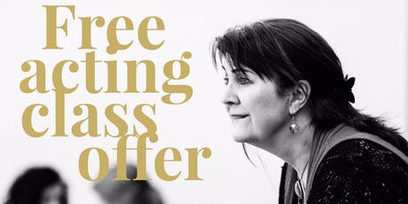 Free Acting Class - Learn From Professional Actors - All Abilities tickets