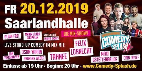UNSERDING COMEDY SPLASH - Mixshow u.a. mit Felix Lobrecht, Tahnee.. Tickets