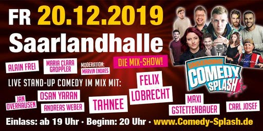 UNSERDING COMEDY SPLASH - Mixshow u.a. mit Felix Lobrecht, Tahnee..