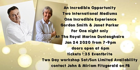 A Demonstration of Mediumship with Two International Mediums tickets