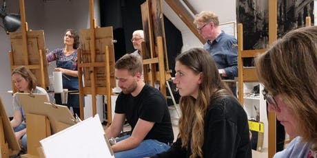 Wine and Paint Wednesday Life Drawing and Portraiture tickets