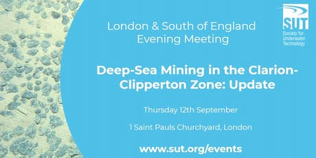 Deep-Sea Mining in the Clarion-Clipperton Zone: Update tickets