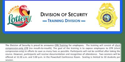 CPR Training (Non-Sworn) Session #13