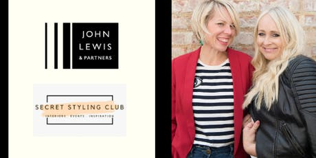 Be an Interior Stylist with John Lewis & Partners and Secret Styling Club tickets