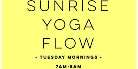Sunrise Yoga Flow-East Bay Park! tickets