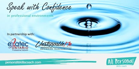Speak with Confidence in Professional Environments tickets
