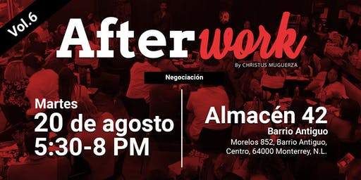 Afterwork Vol.6 |Negociación