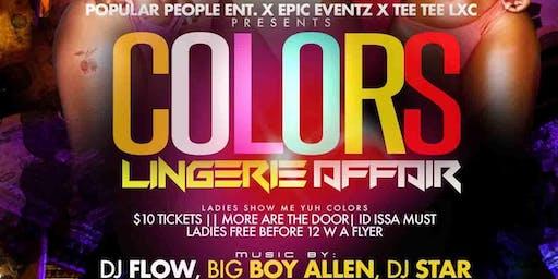 • Colors Lingerie Affair •