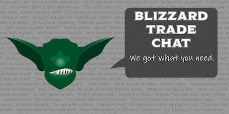 Blizzard Trade Chat - Summer '19 Potluck tickets
