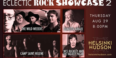 Eclectic Rock Showcase 2! tickets