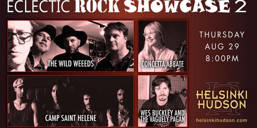 Eclectic Rock Showcase 2!