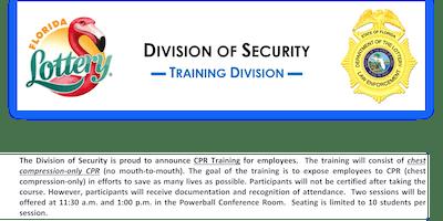 CPR Training (Non-Sworn) Session #17
