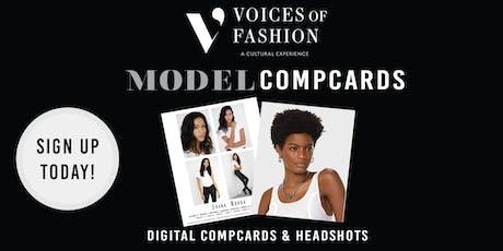V.O.F Presents Headshots and  Comp Card Weekend tickets