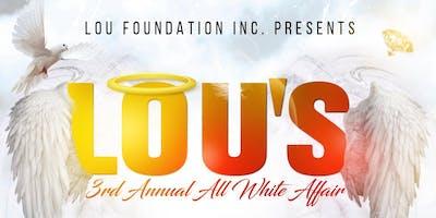 Lou's 3rd Annual All White Affair
