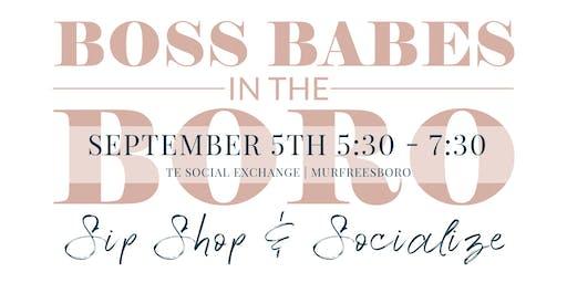 Boss Babes in the Boro - September