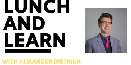 Join Spaces Chapel Hill for a FREE Lunch and Learn with Alixander Diettrich tickets