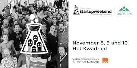 Startup Weekend Groningen 8/9/10 NOV 2019 tickets