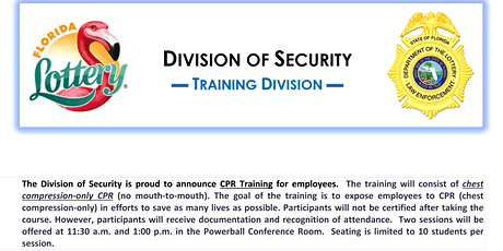 CPR Training (Non-Sworn) Session #22 tickets