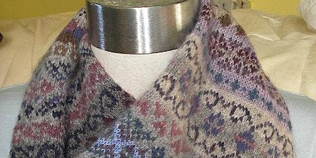 Knitting Fair Isle tickets