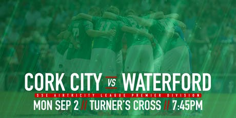 Cork City FC v Waterford FC tickets
