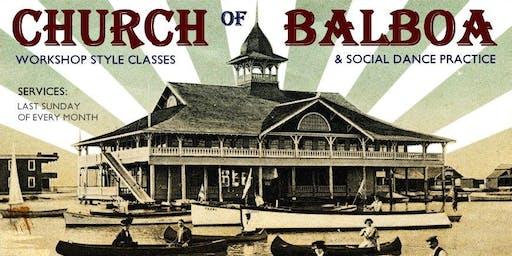 Church of Balboa - Balboa Swing-dance Workshop Class & Practice