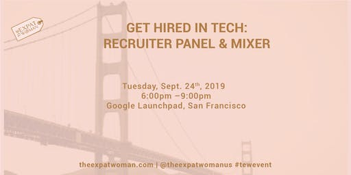 Get Hired in Tech: Recruiter Panel and Mixer