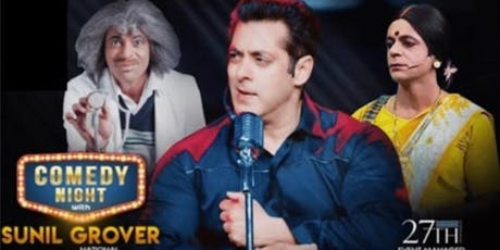 An Evening with Salman Khan, Sunil Grover and Singer Kamaal Khan!!! tickets