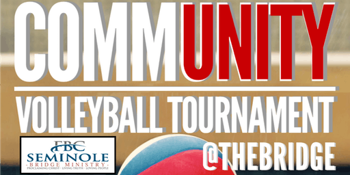 1st Annual CommUnity Volleyball Tournament @THE BRIDGE