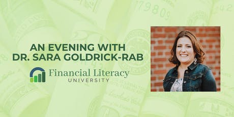 An Evening with Dr. Sara Goldrick-Rab tickets