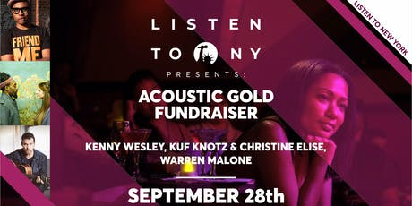 Kenny Wesley, Kuf Knotz & Christine Elise, Warren Malone tickets