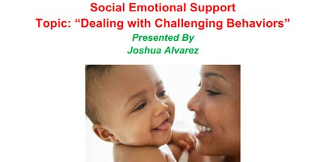 Dealing with Challenging Behaviors: Social Emotional Support - Parent Workshop tickets