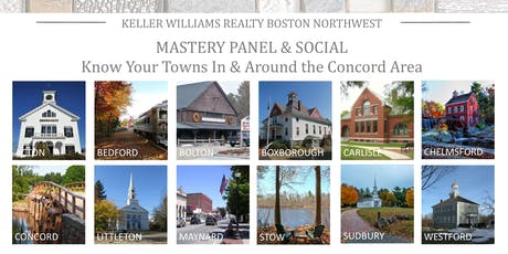 Monthly Mastery Panel: Know Your Towns (In and Around Concord) tickets