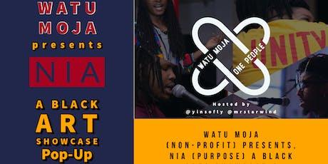 Watu Moja: Black Art Show Pop-Up at The Cherry Hill Mall tickets