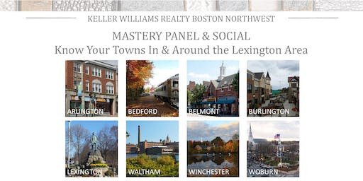 Monthly Mastery Panel: Know Your Towns (In and Around Lexington)