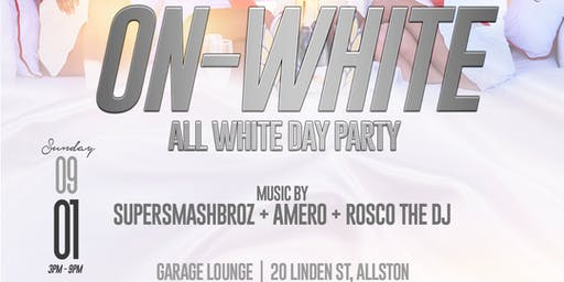On-White (All White Day Party)
