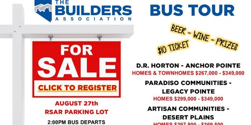Realtor Bus Tour 8/27