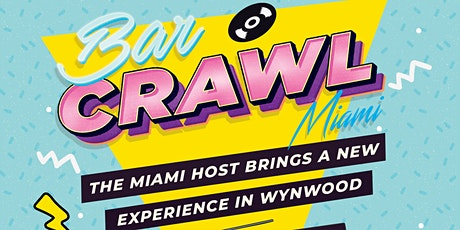 Barcrawl Miami tickets