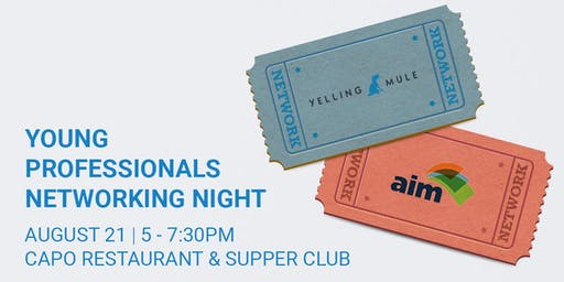 AIM's Young Professionals Networking Night