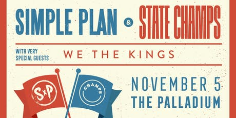 SIMPLE PLAN / STATE CHAMPS tickets